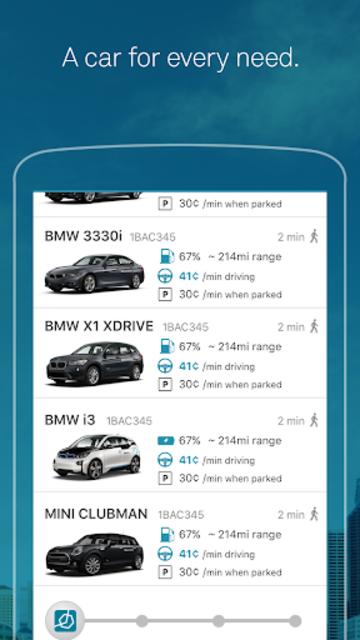 ReachNow - BMW Car & Ride Sharing Service screenshot 4