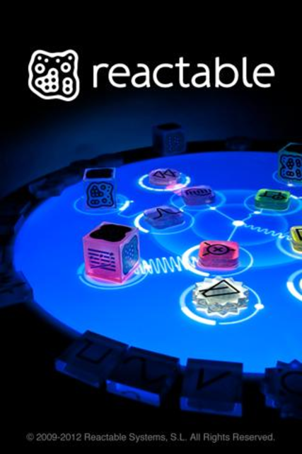 Reactable mobile screenshot 1