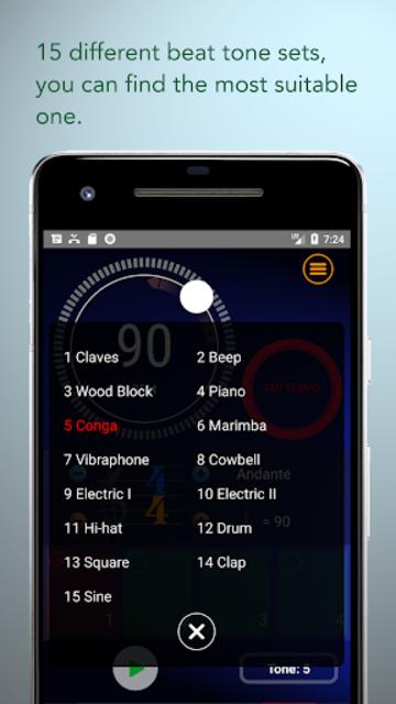 Metronome EX screenshot 2