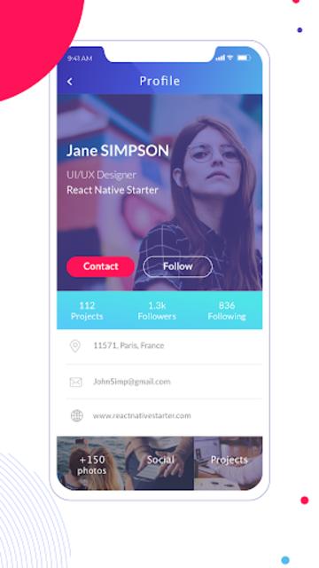 React Native Starter screenshot 3