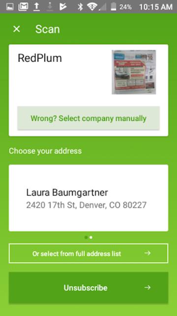 PaperKarma - Stop Postal Junk Mail screenshot 6