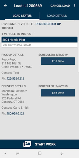 1Dispatch Carrier App screenshot 3
