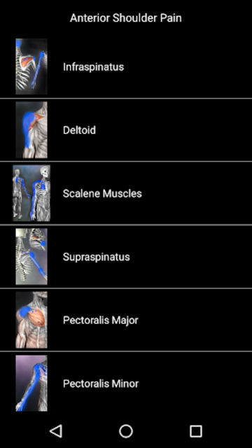 Muscle Trigger Point Anatomy screenshot 23