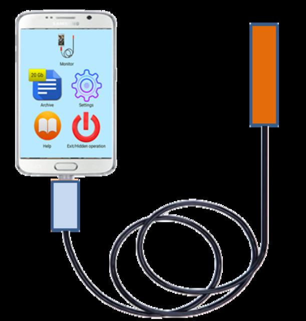 Chinese endoscope for Samsung, LG (OTG USB camera) screenshot 1