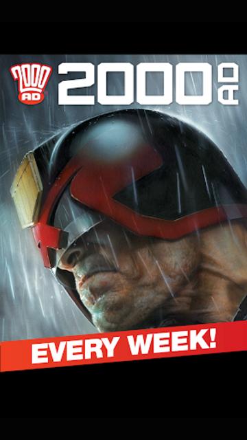 2000 AD Comics and Judge Dredd screenshot 1