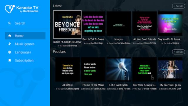 Karaoke TV by Red Karaoke screenshot 1