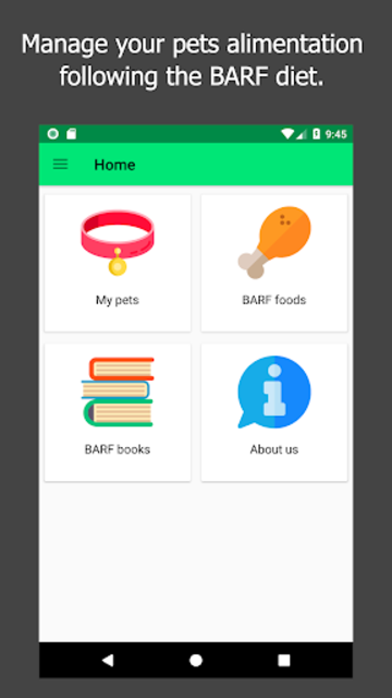 Barfastic - BARF Diet for dogs, cats and ferrets screenshot 1