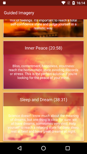 Guided Imagery 7 Meditations screenshot 2