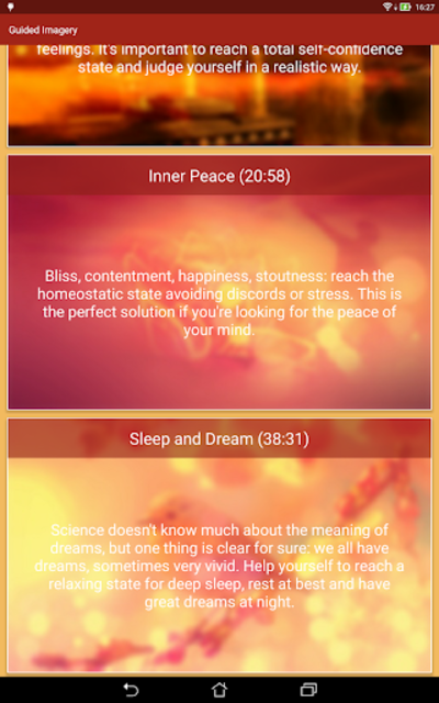 Guided Imagery 7 Meditations screenshot 9