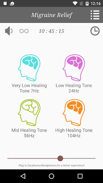 Migraine Headache Relief Music screenshot 2