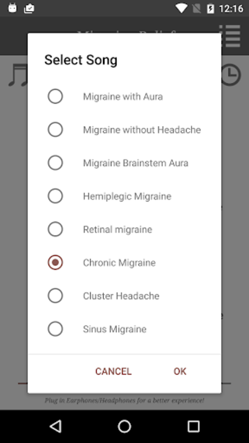 Migraine Headache Relief Music screenshot 3