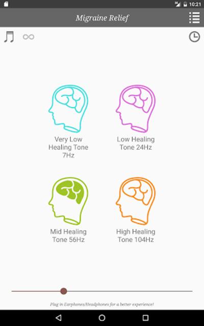 Migraine Headache Relief Music screenshot 15