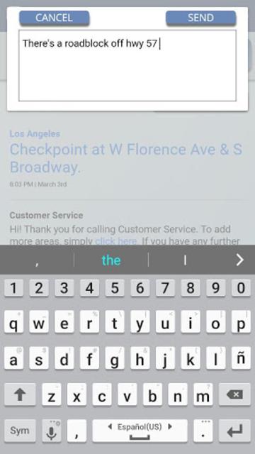Relaid: Traffic Police Scanner screenshot 3