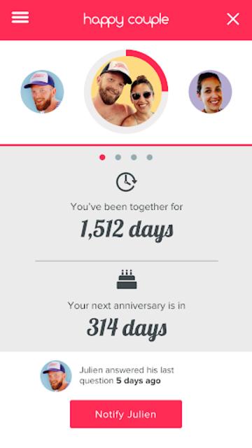 Happy Couple - love quiz screenshot 7