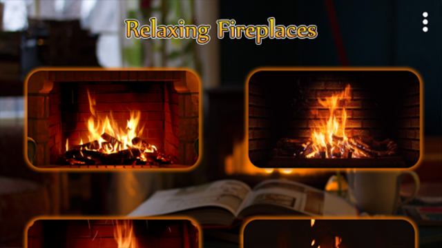 Relaxing Fireplaces - No ads screenshot 2