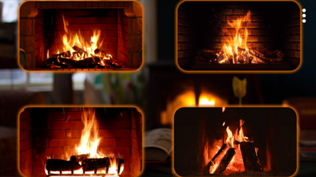 Relaxing Fireplaces - No ads screenshot 3