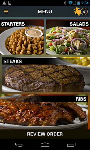 Texas Roadhouse Mobile screenshot 2