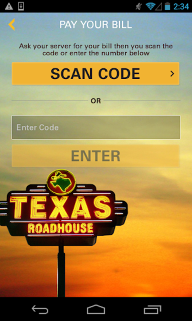 Texas Roadhouse Mobile screenshot 4