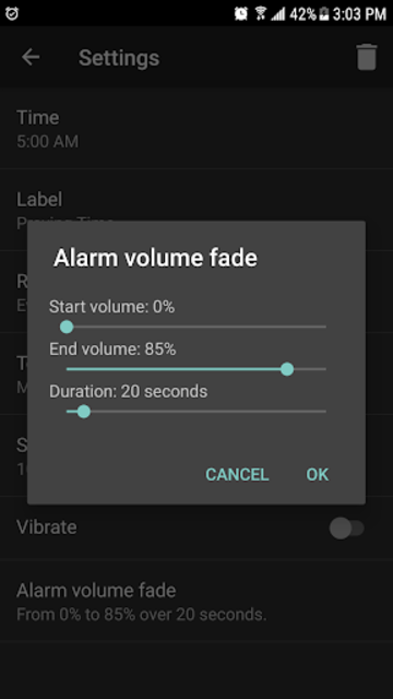 Music Alarm screenshot 6
