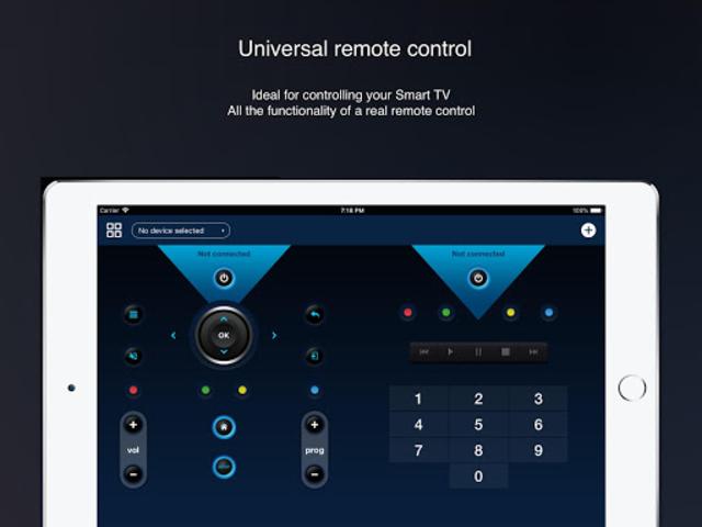 Universal remote control for smart TVs screenshot 6