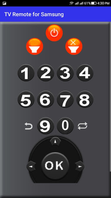TV Remote for Samsung screenshot 2