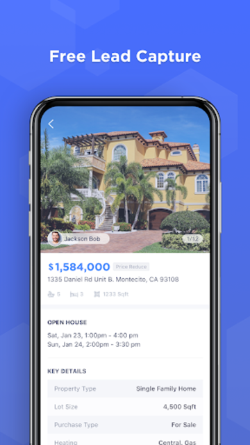 LOFTY- Real Estate Agent Network & Referral screenshot 1