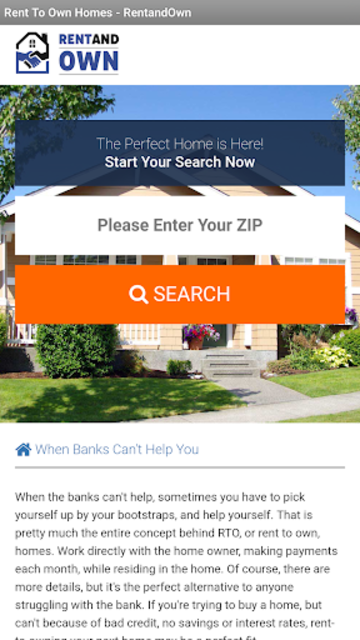Rent and Own - Rent to own homes app screenshot 2