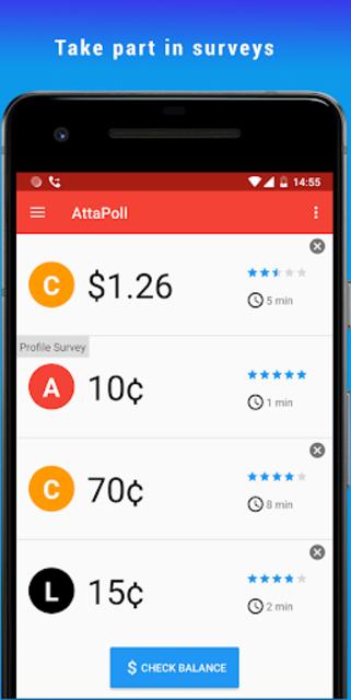 AttaPoll - Paid Surveys screenshot 1