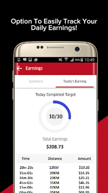 ReRyde Driver : Earn money for your driving. screenshot 2