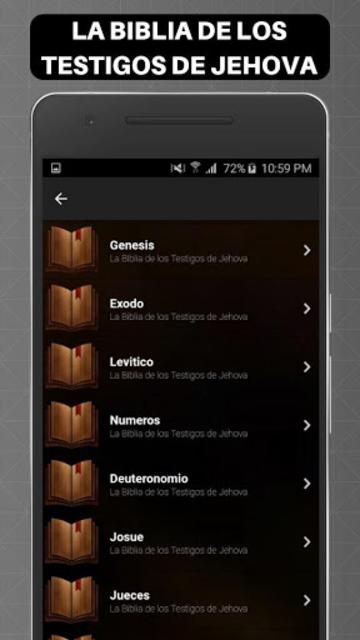 Biblia de los Testigos de Jehova screenshot 3
