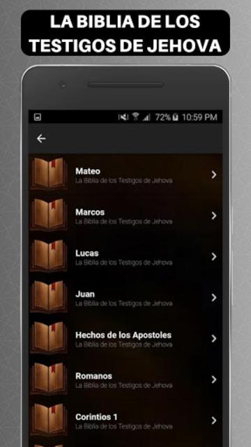 Biblia de los Testigos de Jehova screenshot 4