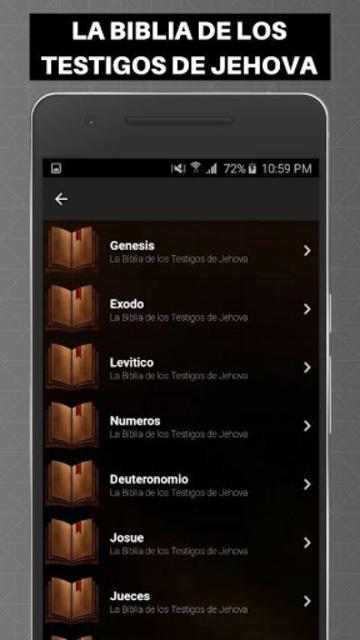 Biblia de los Testigos de Jehova screenshot 11