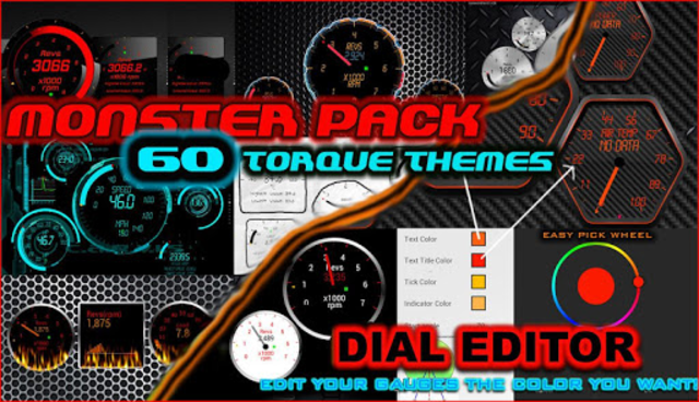 Torque 60 Pack OBD 2 Themes screenshot 1
