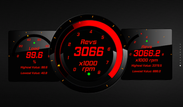 Torque 60 Pack OBD 2 Themes screenshot 3
