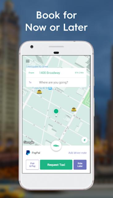 Curb - The Taxi App screenshot 1