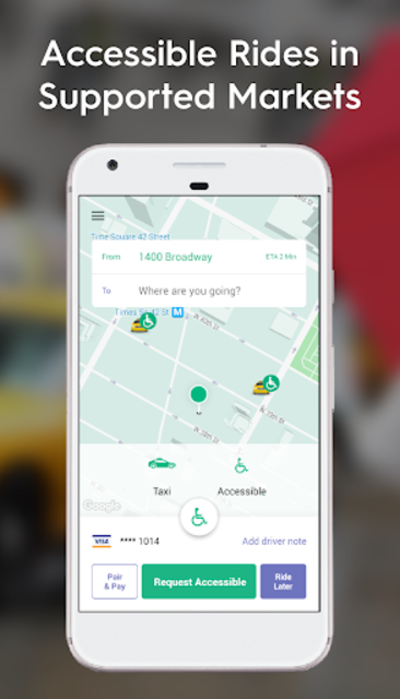 Curb - The Taxi App screenshot 4