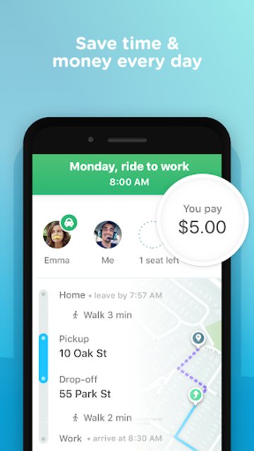 Waze Carpool - Make the most of your commute screenshot 4