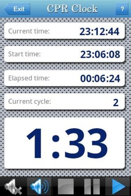 CPR Clock screenshot 2