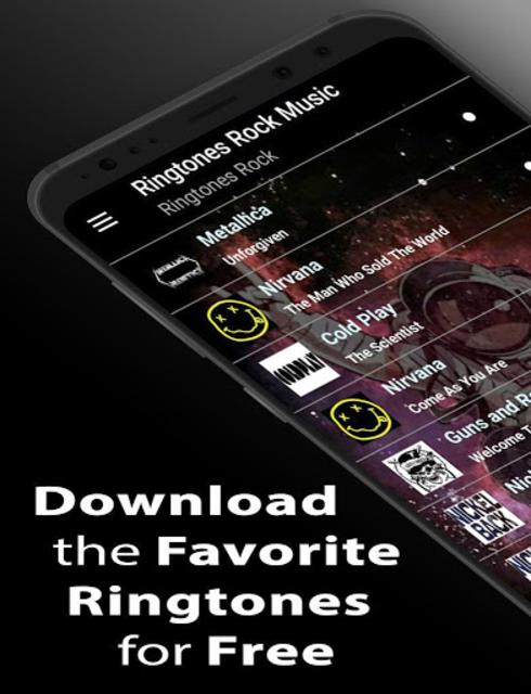 Ringtone Rock Music screenshot 1