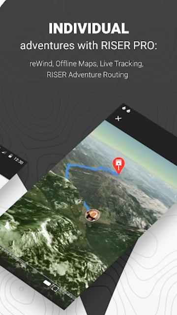 RISER - Motorcycle routing, tracking & community screenshot 5