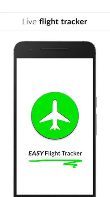 Easy Flight Tracker ✔️ Free Flight Radar screenshot 1