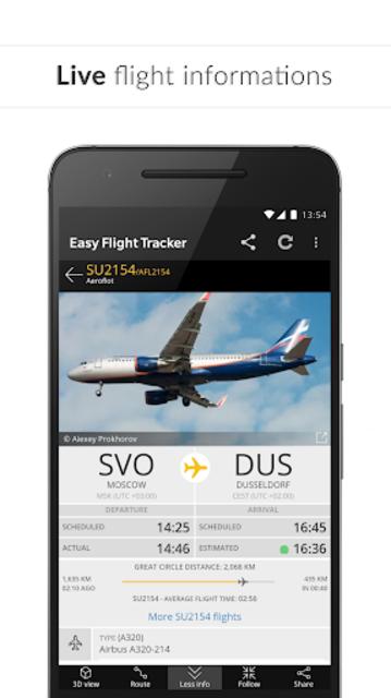 Easy Flight Tracker ✔️ Free Flight Radar screenshot 3