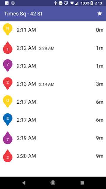 SUBWAY:NYC [No Ads] New York's Premier Subway App screenshot 3