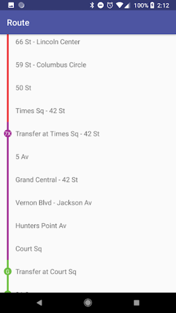 SUBWAY:NYC [No Ads] New York's Premier Subway App screenshot 5