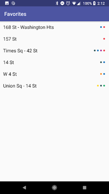SUBWAY:NYC [No Ads] New York's Premier Subway App screenshot 6