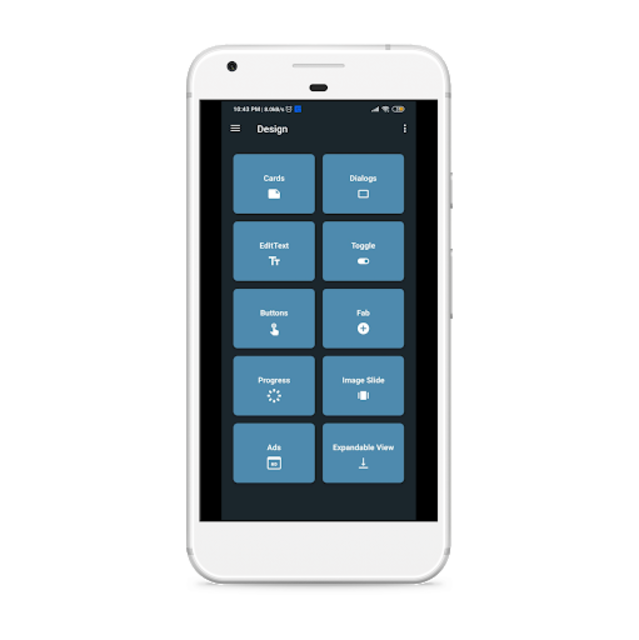 Material Design UI - UX Template | Kotlin screenshot 1
