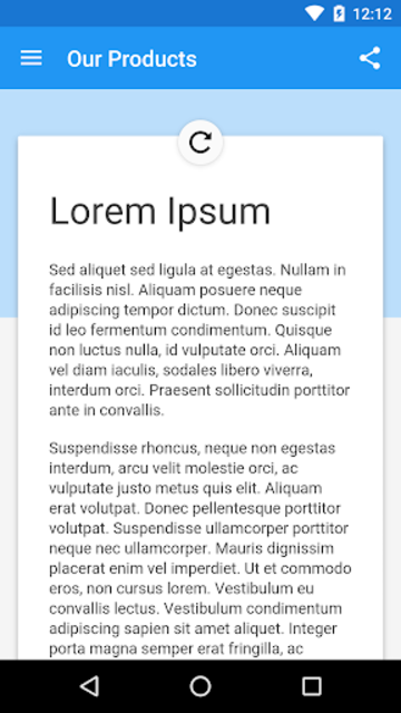 WebView App Demo screenshot 6