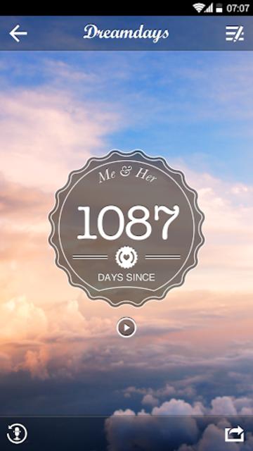 Dreamdays Countdown screenshot 4