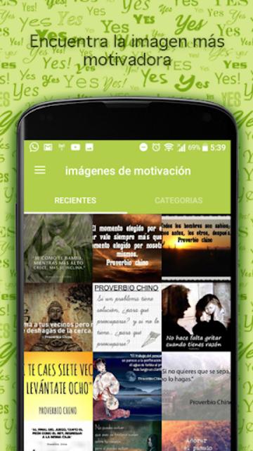 Imágenes de motivación screenshot 9