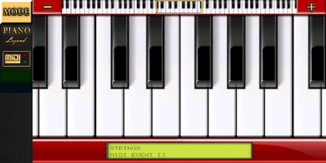 Piano MIDI Legend screenshot 1
